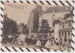 5AH747 RENNES LA PROCESSION DU VOEU A N D DE BONNE NOUVELLE  2 SCANS - Rennes