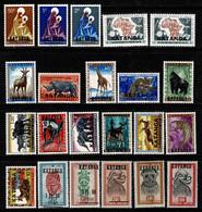 Katanga - 1960/62 Volledig / Complète / Full Set 1/81**, MNH (voir / Zie 4 Scans) - Katanga