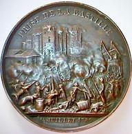 Médaille Pour La Prise De La Bastille... - Altri