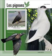 2021/05- DJIBOUTI - PIGEONS        1V   MNH ** - Palomas, Tórtolas
