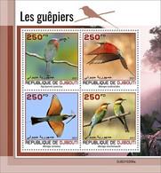 2021/05- DJIBOUTI -  BEE-EATERS        4V   MNH ** - Otros