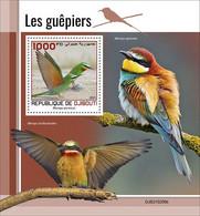 2021/05- DJIBOUTI -  BEE-EATERS        1V   MNH ** - Otros
