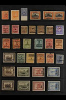 1902-1956 VARIETIES & ERRORS. An Interesting Fine Mint (mostly Never Hinged) Collection Of Varieties Presented On A Stoc - Paraguay