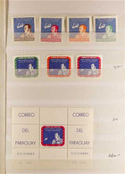 1961-70 NHM COLLECTION OF SETS & M/S. An Attractive Collection Of Complete Sets & Miniature Sheets, Neatly Presented On  - Paraguay