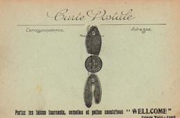 WELLCOMME : Portez Les Talons, Semelles Et Patins Caoutchouc WELLCOME  (publicité WALL, Paris) Alençon - Reclame