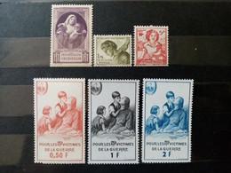 FRANCE.1940 à 1966. Bienfaisance PTT . 6 Timbres NEUFS SANS Charnières. Côte YT 2020 : 26,00 € - Autres