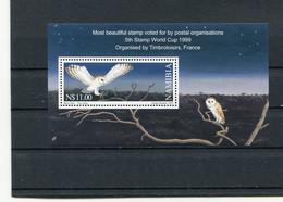 NAMIBIA 1999 BLOCK With OWL MNH. - Búhos, Lechuza