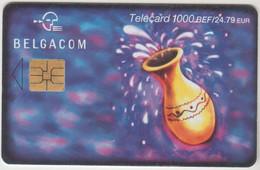 BELGIUM - Zodiac : Aquarius, 1000 BEF, 12/01, Tirage 25.000, Used - With Chip