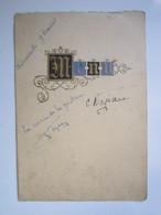 MENU Restaurateur L.DAMIDAUX SAINT LOUP SUR SEMOUSE (Haute-Saône 70) Autographe La Reine De La Guitare NAJEAU - Menükarten