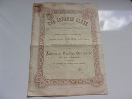 THE CUPARGO GLASS (1908) - Unclassified