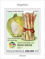 2021/05- MOZAMBIQUE - VEGETABLES    I    1V   MNH ** - Gemüse