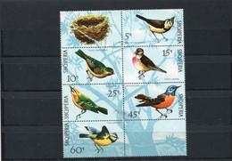 ALBANIA 1971 BIRDS CTO. - Pájaros Cantores (Passeri)