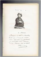 CAMILLE FLAMMARION 1842 MONTIGNY LE ROI 1925 JUVISY SUR ORGE ASTRONOME PORTRAIT AUTOGRAPHE BIOGRAPHIE ALBUM MARIANI - Historische Documenten