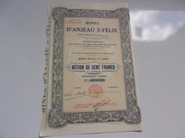 MINES D'ANJEAU SAINT FELIX - Unclassified