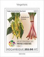 2021/05- MOZAMBIQUE - VEGETABLES    II    1V   MNH ** - Gemüse