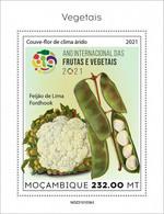 2021/05- MOZAMBIQUE - VEGETABLES    III    1V   MNH ** - Gemüse