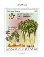 2021/05- MOZAMBIQUE - VEGETABLES    IV    1V   MNH ** - Gemüse