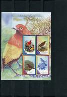 PAPUA NEW GUINEA 2010 PARADISE BIRDS SHEET MNH. - Sin Clasificación
