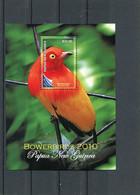 PAPUA NEW GUINEA 2010 PARADISE BIRD BLOCK MNH. - Sin Clasificación