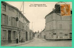 Chaumes En Brie - Seine Et Marne - Hôtel De La Gare - Animé - Melun