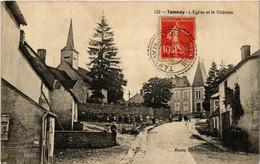 CPA AK TANNAY - L'Église Et Le Chateau (518440) - Tannay