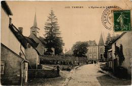 CPA AK TANNAY - L'Église Et Le Chateau (518441) - Tannay