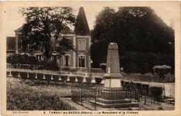 CPA AK TANNAY-en-BAZOIS - Le Monument Et Le Chateau (518443) - Tannay