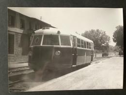 Photographie Originale De J.BAZIN : Autorail à Ottrott Ligne De ROSHEIM  à OTTROTT En 1950 - Trains