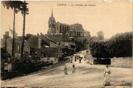 CPA AK LORMES - La Montée De L'Église (518419) - Lormes