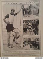 1907 LE TOUR DE FRANCE CYCLISTE - COURSE AUTOMOBILE - ZÉLÉLÉ CHAUFFEUR MARQUIS DE DION - VOITURES MORS - PONT L'EVEQUE - Non Classificati