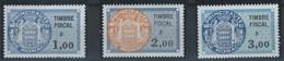 MC3-/-525-  TIMBRE FISCAL - TYPE DAUSSY, N° 89, 90, 91 , * * , FIL. ITVF - COTE 16.00 €, IMAGE DU VERSO SUR DEMANDE - Nuevos