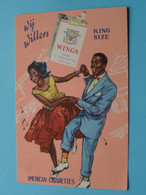 Wij Willen WINGS King Size ( American Cigarettes ) > ( See  / Voir Photo ) ! - Reclame