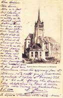 1727/ Eglise Saint-Francois Et Douane, Mensen, 1900 - VD Vaud