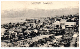BEYROUTH - Vue Générale - Libano