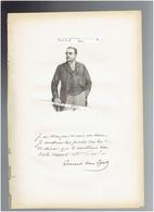 ERNEST VAN DYCK 1861 ANVERS 1923 BERLAAR BELGIQUE CHANTEUR OPERA WAGNER  PORTRAIT AUTOGRAPHE BIOGRAPHIE ALBUM MARIANI - Documents Historiques