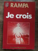 Rampa - Je Crois  / J'ai Lu, 1979 - Autres