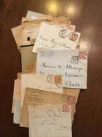 LOT N5 De 85 Lettres Du Type MOUCHON - 1900-02 Mouchon