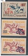 EC-320: REUNION:  Lot Avec N°314**-318*(2) - Unused Stamps