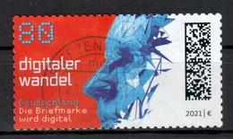 BRD - 2021 - MiNr. 3592 - Weite Zähnung - Selbstklebend - Gestempelt - Used Stamps