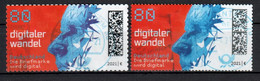BRD - 2021 - MiNr. 3592 - Weite + Enge Zähnung - Selbstklebend - Gestempelt - Used Stamps