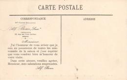 AMIENS (80) : La Cathédrale - Le Portail, Avec PUB Au Verso : ALF. BEAU, Chemisier à Amiens, Voir Scan - Reclame