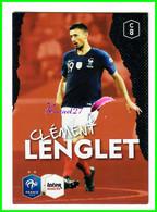 Carte PANINI Football FFF France 2018 Intermarché  N° C8 CLEMENT LENGLET - Edición Francesa