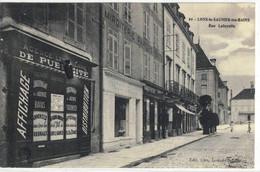CPA  LONS Le SAUNIER    Rue Lafayette   N° 64 - Lons Le Saunier