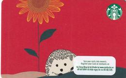 VIETNAM - Starbucks Card, CN : 6189, Unused - Gift Cards