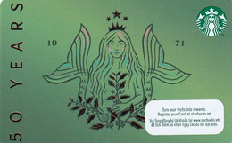 VIETNAM - Starbucks Card, CN : 6188, Unused - Gift Cards