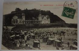 50 Manche CPA  Granville Le Casino Et La Plage 1913 - Granville