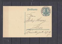GERMANIA  1912 (12-12-12) - Allegoria  - I.P.  (Stuttgart) - Postwaardestukken