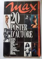 M#0X04 MAX 20 POSTER D'AUTORE 1994/DYLAN DOG/C.LAMBERT/KATE MOSS/ORNELLA MUTI/CLAUDIA SHIFFER/AMBER SMITH/SHARON STONE - Posters
