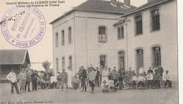 DPT 44 Clisson Hôpital Militaire De Clisson Côté Sud Union Des Femmes De France CPA TBE - Nantes