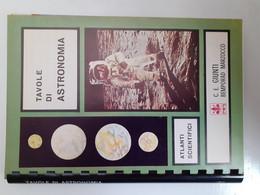 M#0X45 Atlanti Scientifici : TAVOLE DI ASTRONOMIA Ed. Giunti Bemporad Marzocco 1968 - Altri